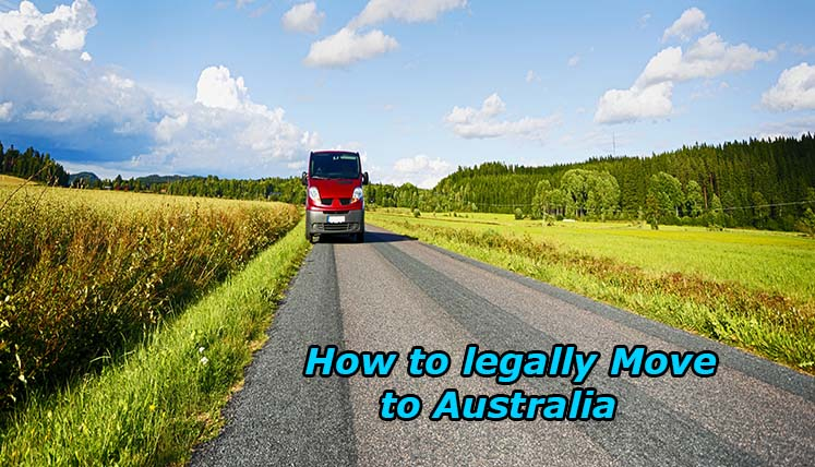 How to legally move to Australia?