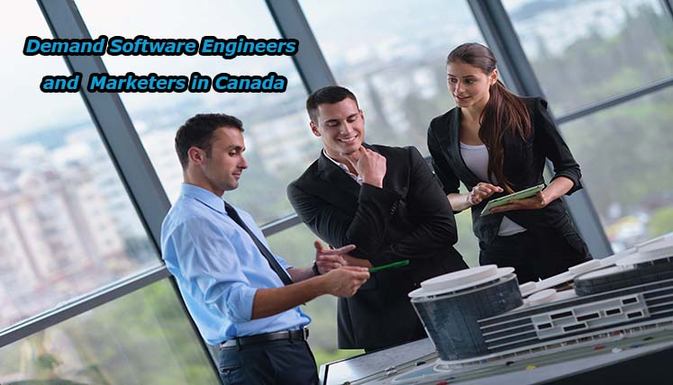 Great Chance in Canadian market for Software Engineers and Designers