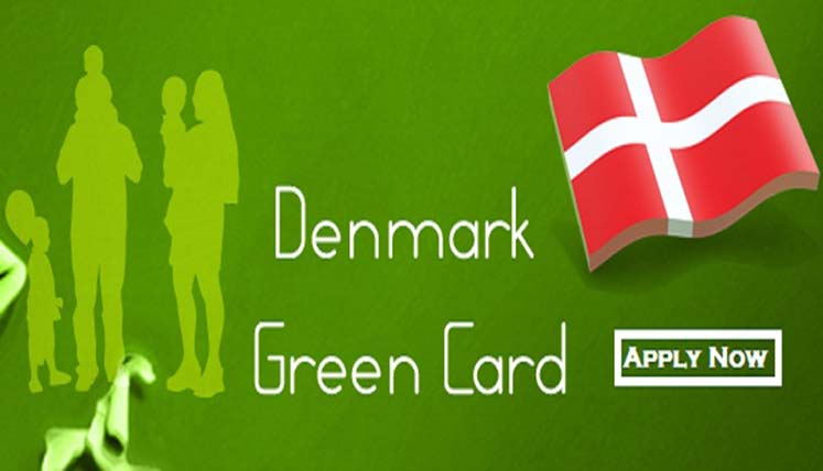 How to apply for danish green card from india
