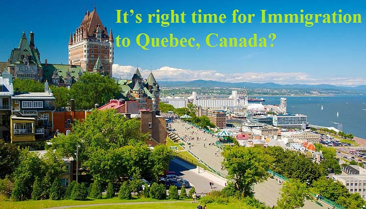 Quebec in Canada Needs Huge number of Immigrants in view of Declining birth rate & Ageing Population