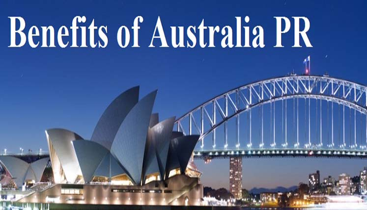 What are the benefits of Australian PR?