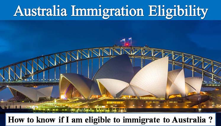 Eligibility Requirement of Australia