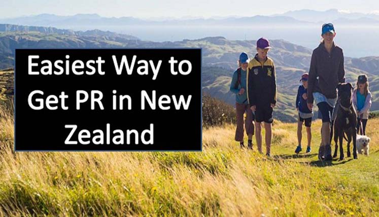 What is the easiest way to get PR in New Zealand?