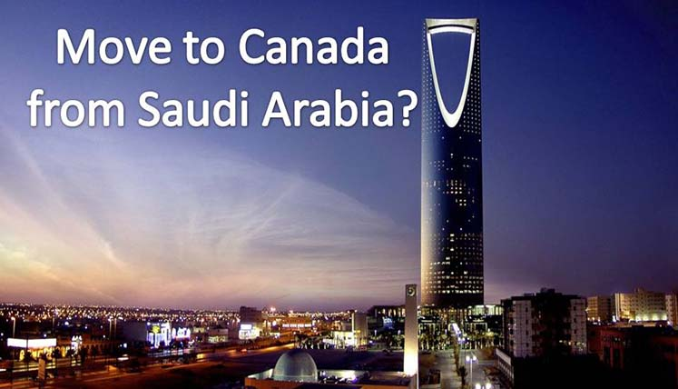 How to move to Canada from Saudi Arabia? What are the Immigration pathways?