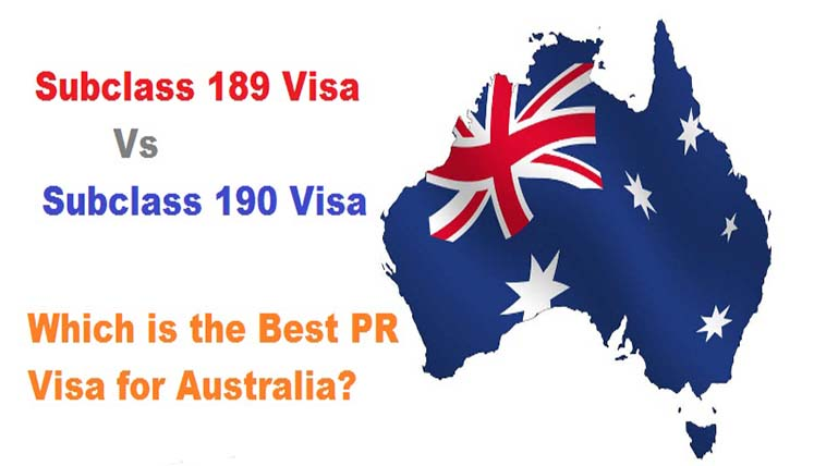 Subclass 189 Vs Subclass 190 Visa- Which is the Best PR Visa for Australia?