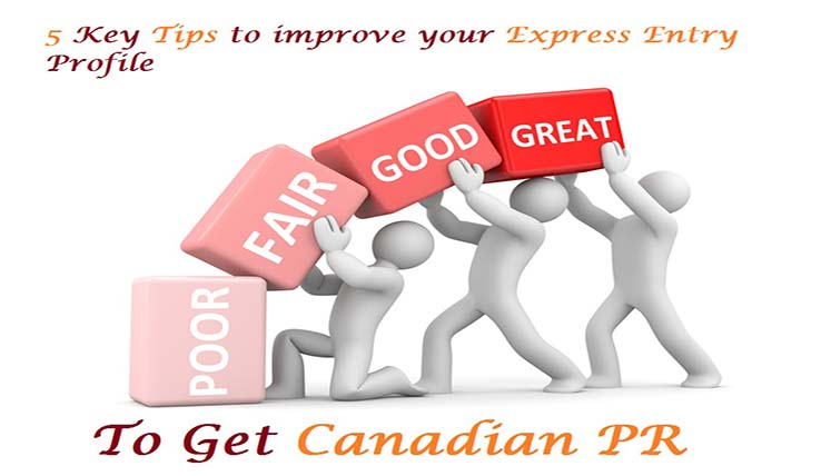 5 Key Tips to improve your Express Entry Profile & get Canadian PR