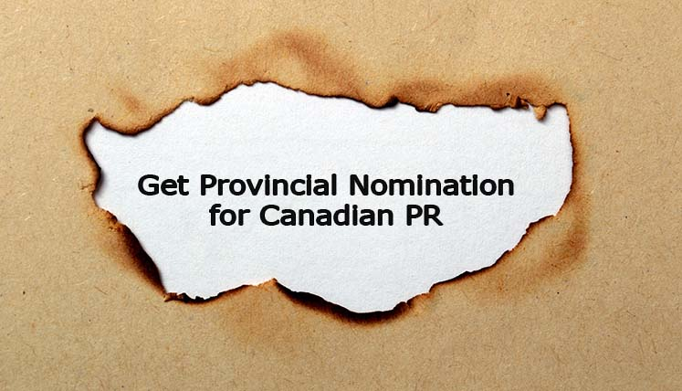 How to Get Provincial Nomination for Canadian PR without Job offer?