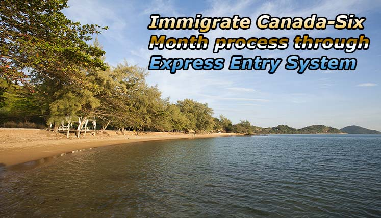 Immigration to Canada- It's Just the Six Month Process via Express Entry