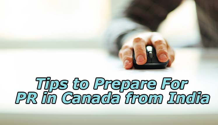 Get PR in Canada From India