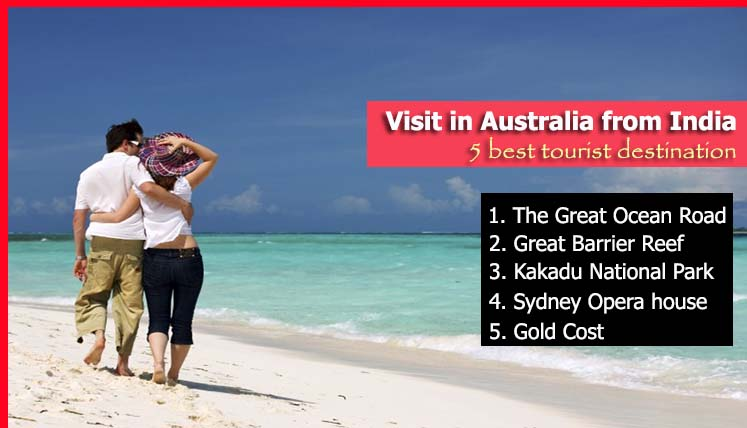 5 Dream Destinations to Visit in Australia from India