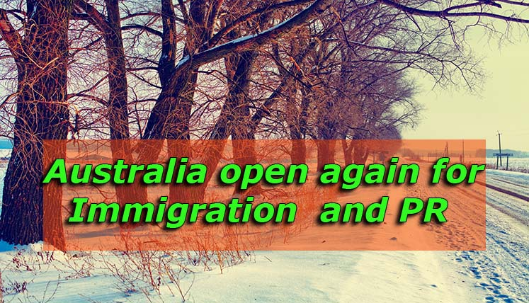 After 457 Visa Debacle, Pathways are open again for Australia Immigration and PR