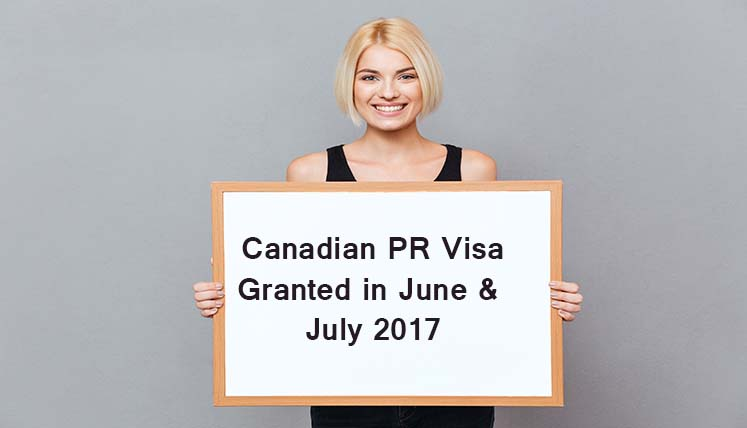 14 Canadian PR Visas Granted in June & July 2017- A Remarkable Achievement by Visas Avenue Team