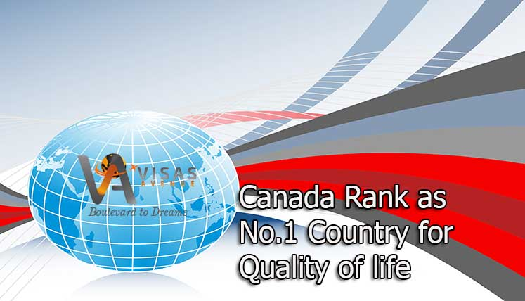 Canada Ranks No.1 Country in the World for Quality of Life