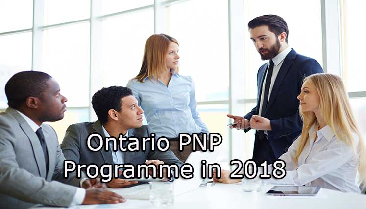 How to apply Ontario PNP programme in 2018?