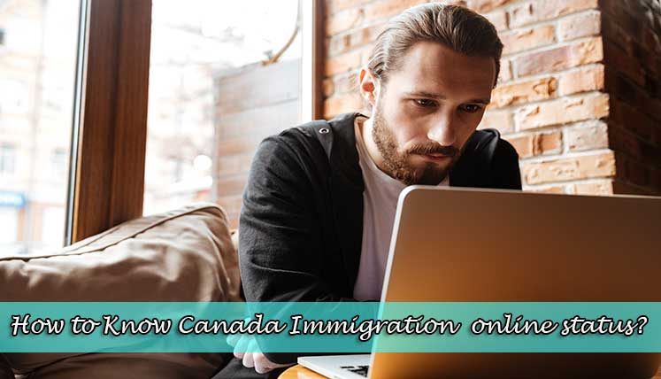 How to know my Canada immigration application status online?