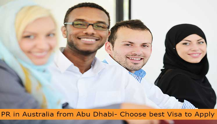 PR in Australia from Abu Dhabi- Choose the best Visa Category to apply