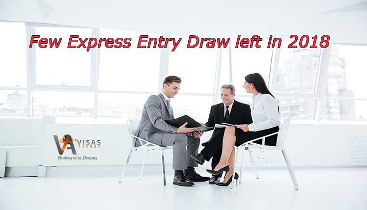 Less Than Half Dozen Express Entry Draws left in 2018 – What's your chance with CRS score in 430s?