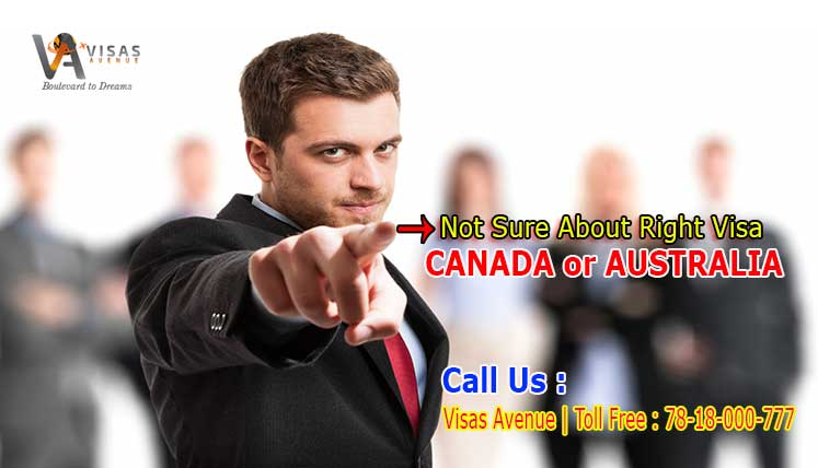 Not sure about right Visa Program to move to Canada or Australia? – Call Visas Avenue Immigration Expert now