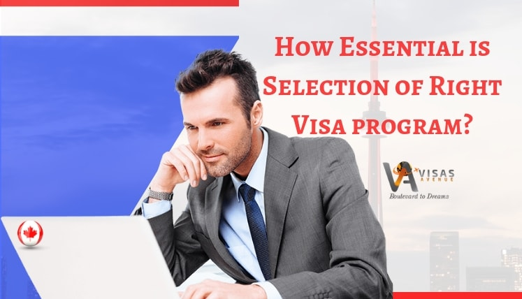 Canada Immigration Process- How Essential is Selection of Right Visa program?