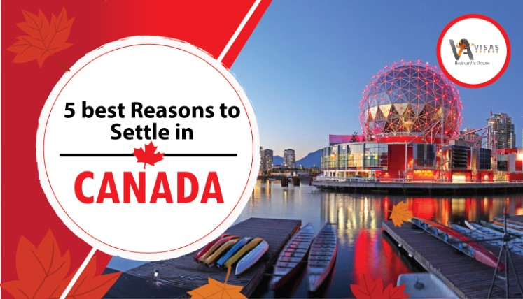 5 best Reasons to Settle in Canada
