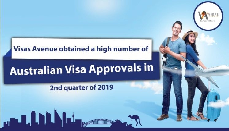 Visas Avenue Obtained High Number of Australian Visa Approvals Between April and June 2019