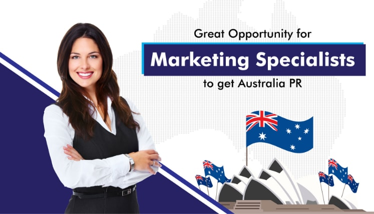 Great Opportunity for Marketing Specialists to get Australia PR via Subclass 491 Visa in Queensland