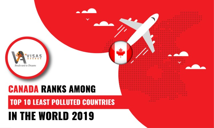 Canada Ranks among Top 10 least Polluted Countries in the World