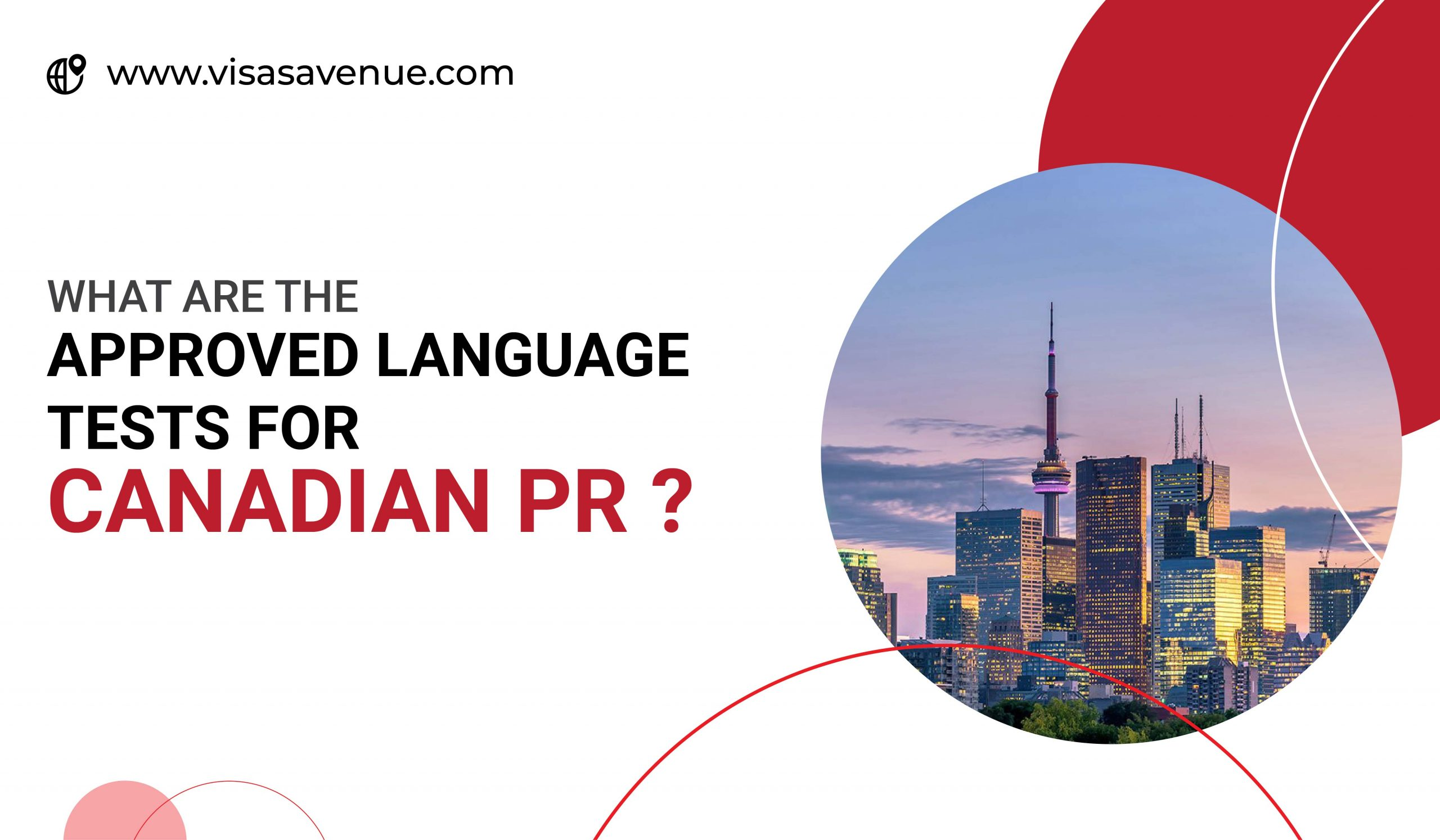 What are the Approved Language Tests for Canadian PR