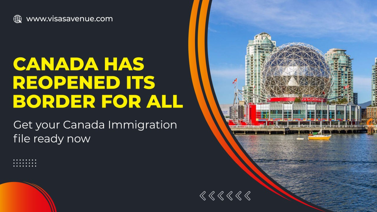 Canada has reopened its border for all